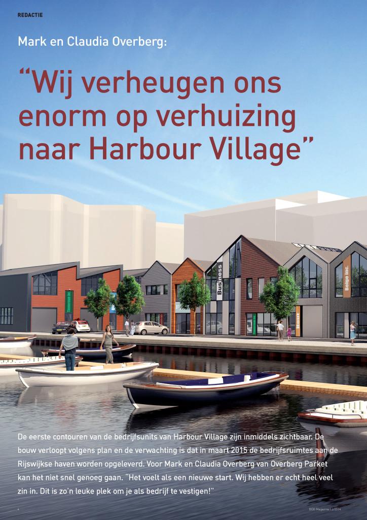 Interview BOG Magazine met Mark en Claudia Overberg: Wij verheugen ons enorm op verhuizing naar Harbour Village
