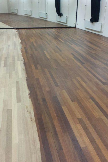 Haagse Hogeschool, Keroewing vloer schuren